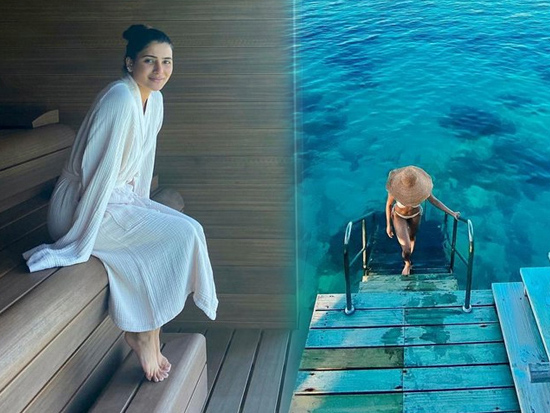 Samantha Akkineni Enjoys Her Vacation In Maldives
