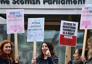 Scotland becomes first nation to provide free period products For Women