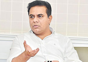 Trump for Greater Election Campaign KTR Punch