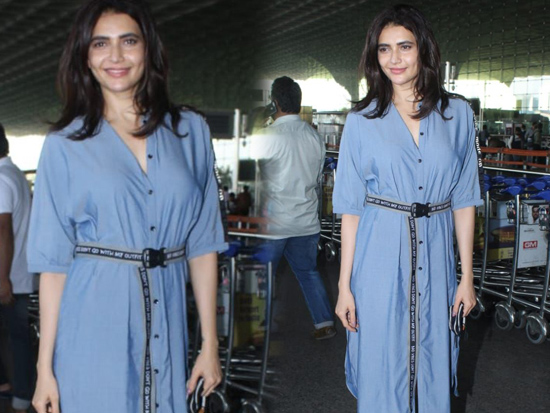 Karishma Tanna At Airport