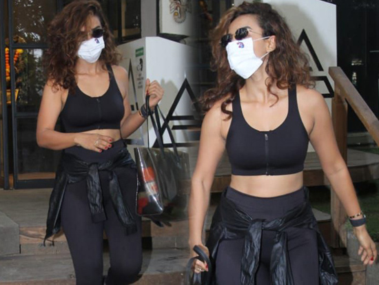 Patralekha Spotted Outside Gym Phil Hill