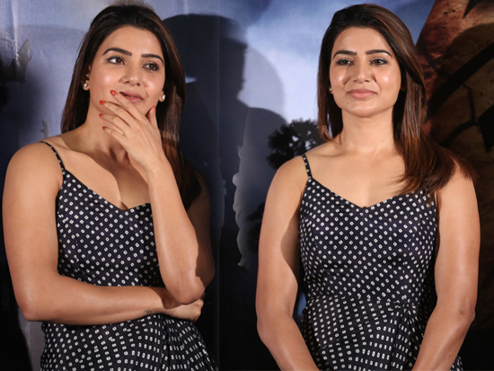 Samantha At Zombie Reddy Teaser Launch