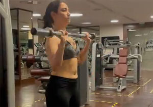 Tamannah Latest Workout Video Goes Viral