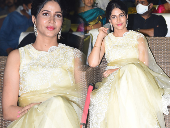 Lavanya Tripathi At A1 Express Movie Pre Release Event