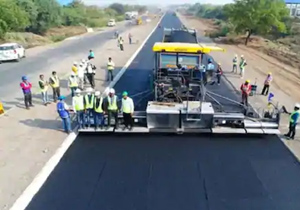 National Highway Authority world record 25 km road construction in 18 hours