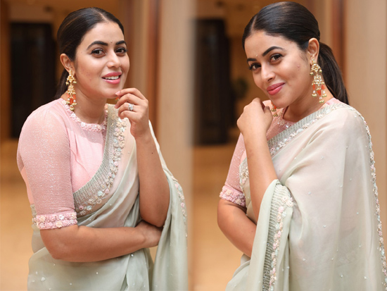poorna At Power play pre release event