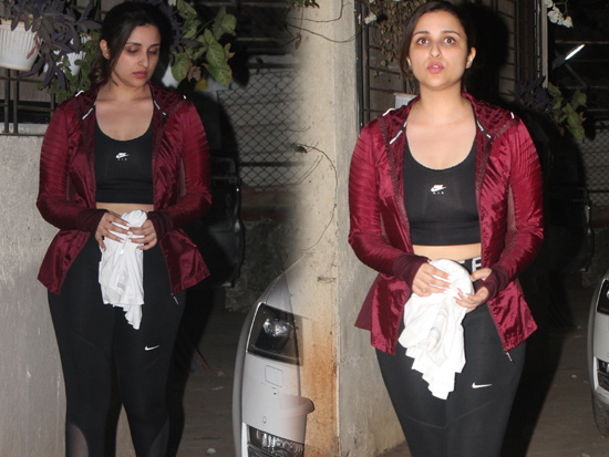 Parineeti Chopra Spotted At Satyam Dance Class Juhu