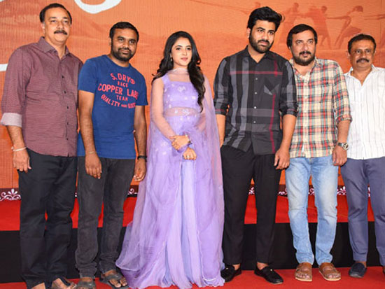 Sreekaram Movie Press Meet Pics