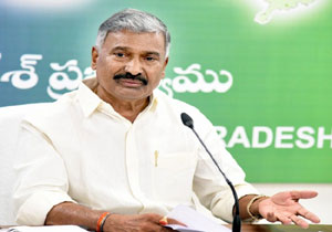 Minister Peddireddy response on the Mamillapalle incident