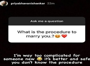Tell me how to marry you Heroine Crazy Answer