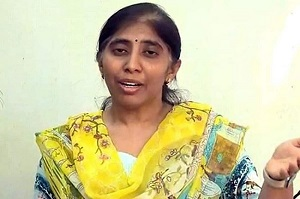 YS Sunita Reddy approached the police for protection