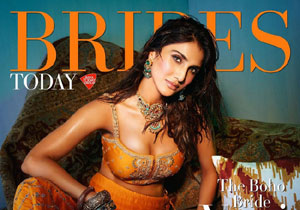 Vaani Kapoor Brides Today cover page