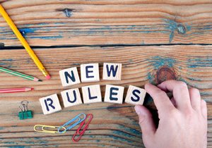 New Rules from August 1st