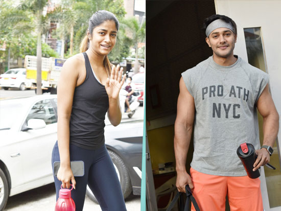 Dimple Hayathi and Prince Spotted Near The Gym