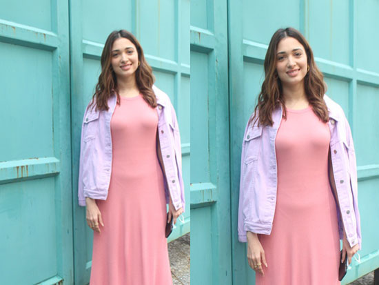 Tamanna Sizzling Clicks In Pretty Pink
