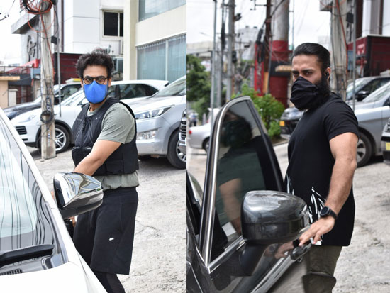 Vaisshnav and Navdeep Steps Out Of Gym In Style