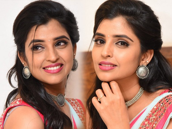 Anchor Shyamala at Gully Rowdy Movie Pre Release Event