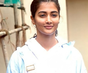 Pooja Hegde Stretching It Out