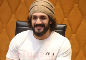 Akhil appeared in the variety of stylish hairstyles