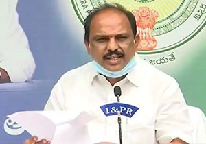 Allegations by own party leaders against YCP minister