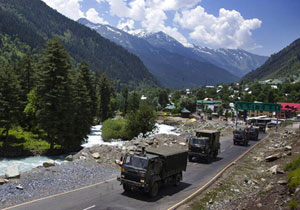 Deployment Of Heavy Forces At LAC Army