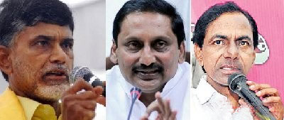 TDP, TRS and Congress