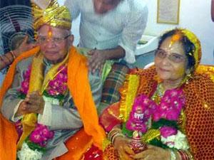 ND Tiwari ties knot at Age 88