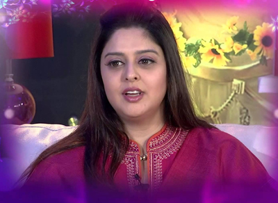 Nagma in soundarya lahari Show
