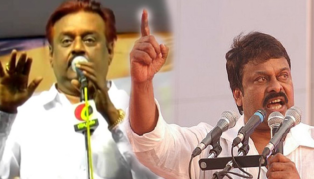 Vijaykanth Follows Chiranjeevi