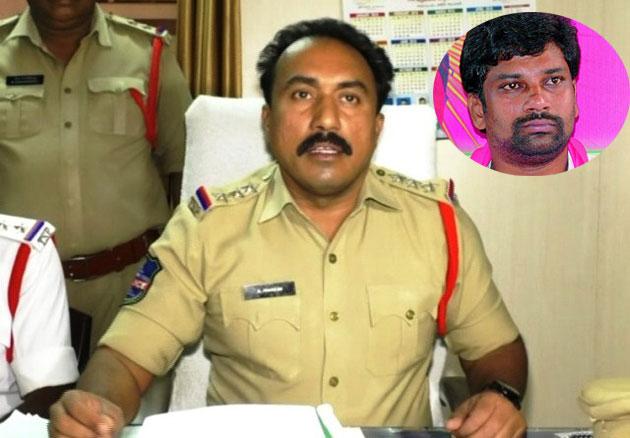 Mancherial CI Mahesh clarification on Social media news about TRS MP Balka Suman