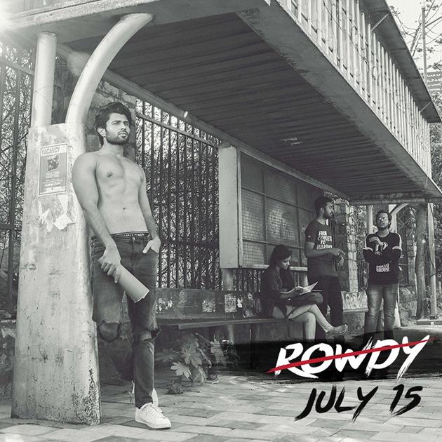 Vijay Deverakonda go shirtless for ROWDY CLUB