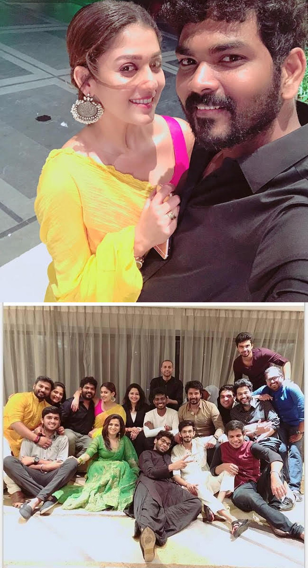 Nayanthara and Vignesh Shivan Diwali Celebrations