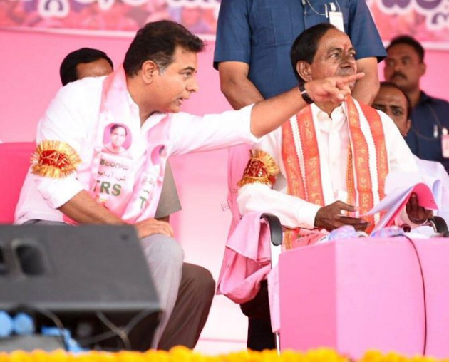 KCR Gives Responsibility To Selection Of Cabinet Ministers To KTR