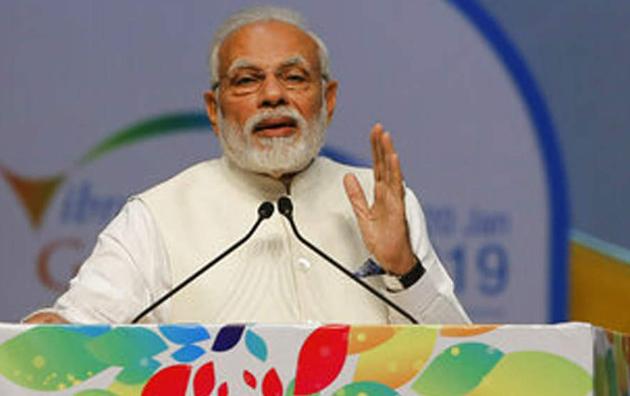 PM Narendra Modi uses 15 paise remark of Rajiv Gandhi to attack Congress at Pravasi Bharatiya Diwas
