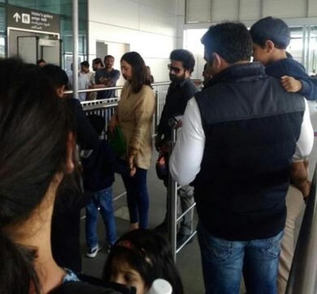NTR Dubai Trip Viral In Social Media