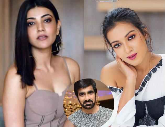 Kajal Agarwal and Catherine Tresa For Ravi Teja Kanaka Durga Movie