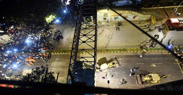 Kasab bridge in south Mumbai collapses; 6 dead, 29 injured