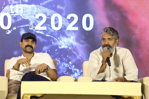 Rajamouli on about NTR And Ram Charan Fans