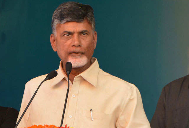 Chandra babu Gets Shock From Election Commission