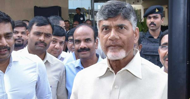 Chandrababu Naidu Violates Election Code