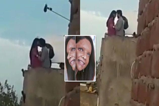 Deepika Padukone and Vikrant Massey KISSING scene leaked