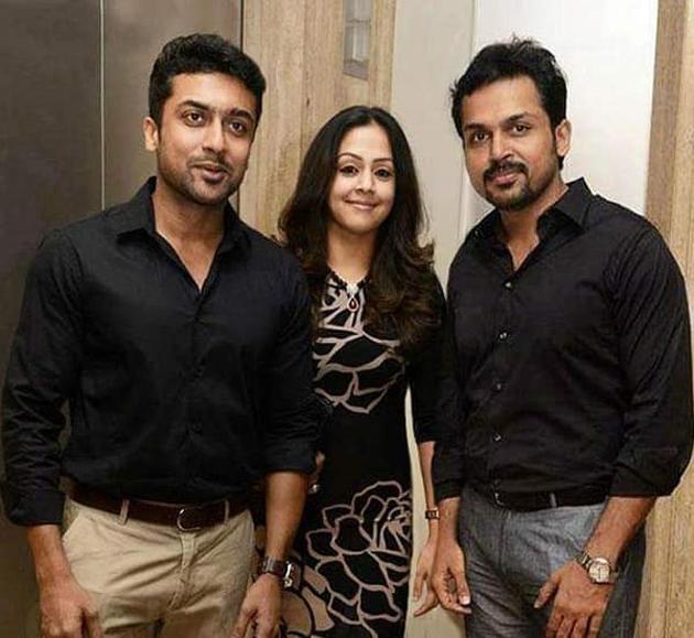 Karthi plays Jyothika brother in Jeethu Joseph film