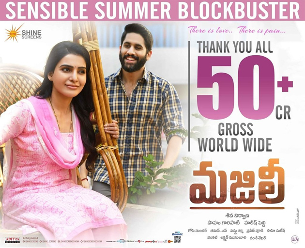 Naga Chaitanya Majili Movie Enters in 50 Crores Club