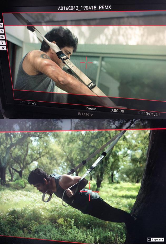 Nagarjuna Workouts for Manmadhudu 2 Movie