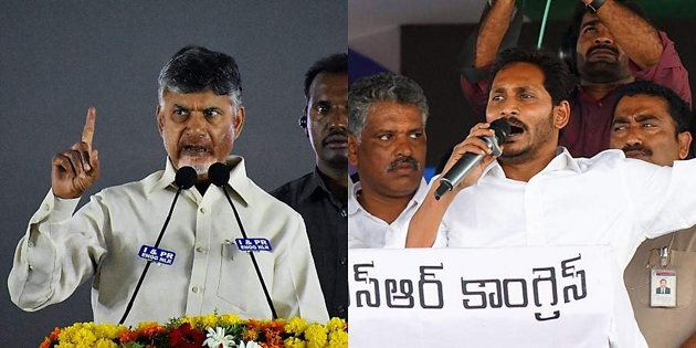 Political Parties on About Polling Percentage in Andhra