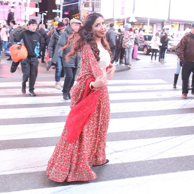 Poonam Kaur in Bridal Wear