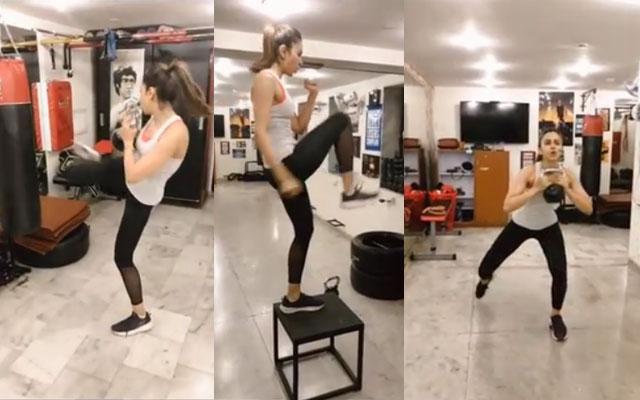 Rakul Preet Singh Fitness Video Viral In Social Media