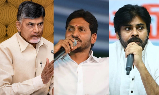 TDP YSRCP and Janasena on About Polling Percentage in Andhra