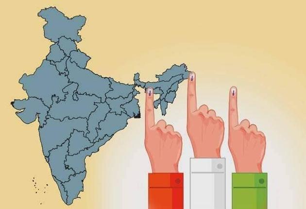 Third Phase of Lok Sabha Elections Percentage