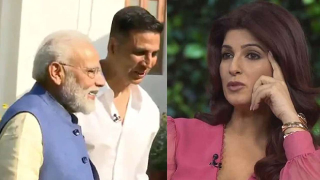 Twinkle Khanna tweets in response to PM Modi remark on her